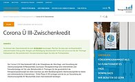 Screenshot Website Aufbaubank